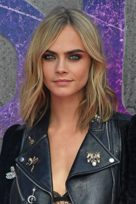delevingne hair hairstyle haircut hair color