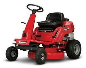 snapper re110 28 inch 11 5 hp rear engine mower 7800950 ebay