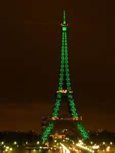 St. Patrick's Day Eiffel Tower