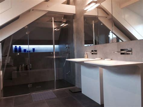 d馗o chambre sous pente salle de bain sous pente 5m2 maison design bahbe com