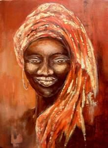 Peinture Visage Femme : afrique 4 reveries au fil du pinceau les peintures de c forestier thivrier ~ Melissatoandfro.com Idées de Décoration