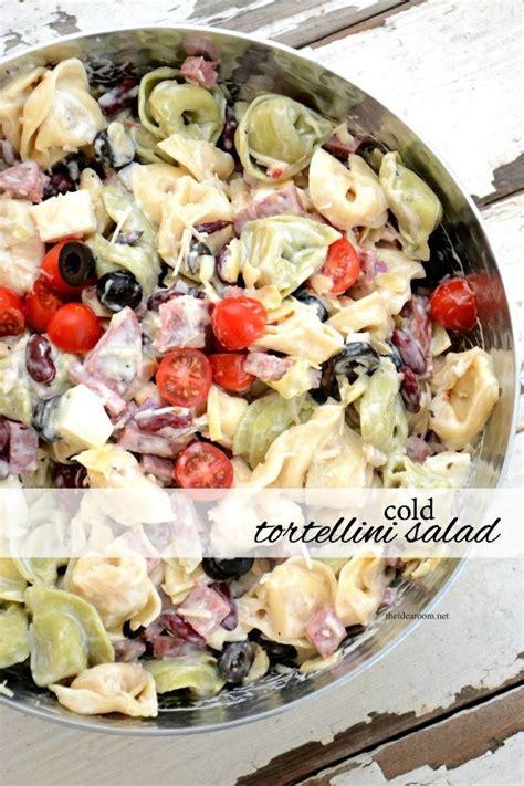 Cold Tortellini Salad Recipe  Recipes, Cream And Cheese
