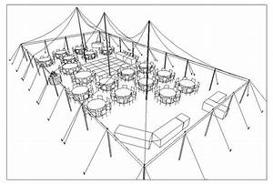 Tent Layout  Floor Plan  Table Seating Diagram