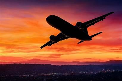 Airplane Sunset Sky Silhouette Aircraft Gbta Specialists