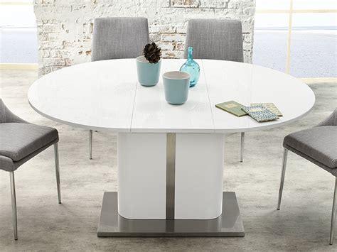 esstisch ausziehbar oval esstisch weiss hochglanz ausziehbar 120 160 x120cm eckbanktisch tisch pascal ebay