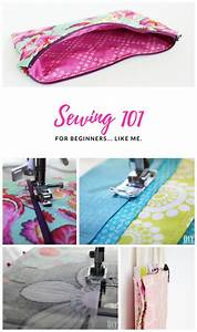 Sewing 101 - Guide For Beginners  Like Me