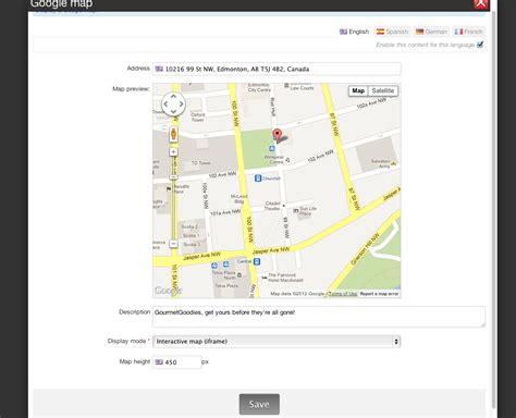 How Add Google Map Your Website Emyspot