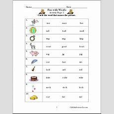 Worksheet Fun With Words (primary) Abcteach