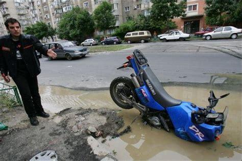 Motorcycle Fail Barnorama