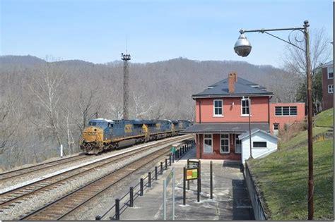 csxths rail fanning csx historic hinton wv