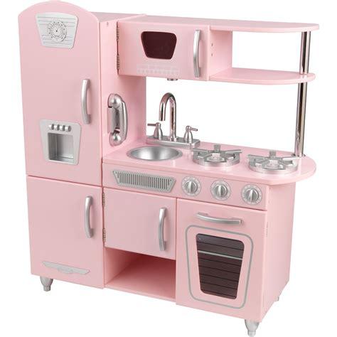 cuisine kraft lightning deal kidkraft vintage kitchen in pink at 3pm