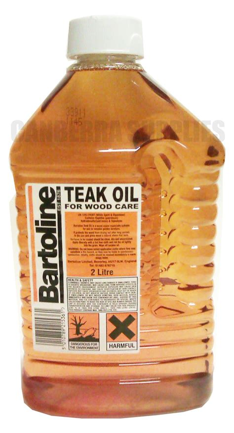bartoline teak oil garden furniture wood treatment care