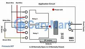 Winch Wireless Remote Control Wiring Diagram