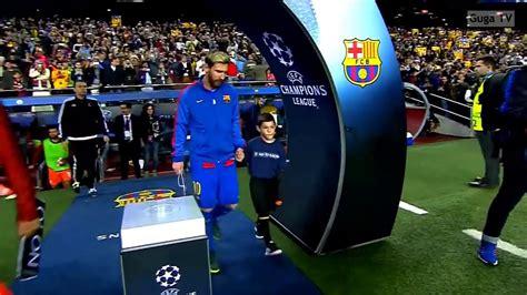Barcelona vs Manchester city 4-0 -UCL 2016/2017 - YouTube