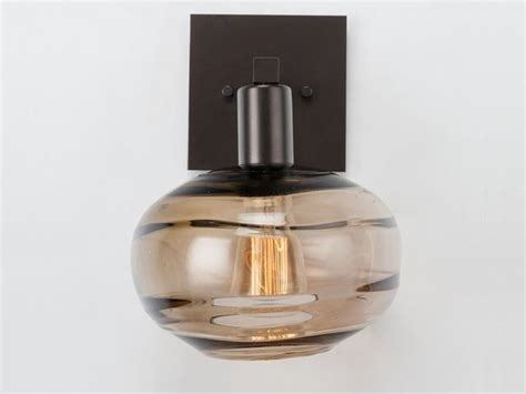 Coppa Blown Glass Wall Sconce Idb0036-11