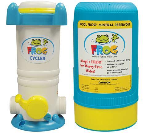 frog mineral system frog cycler alternative sanitizer