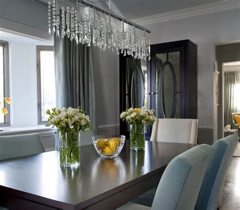 Unique Chandeliers Dining Room by Well Accessorized 32 Ideas For Dining Rooms