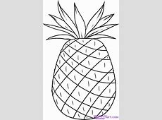 7 Best Images of Pineapple Template Printable Pineapple