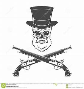gentleman of fortune skeleton with beard glasses stock With top gun hat template