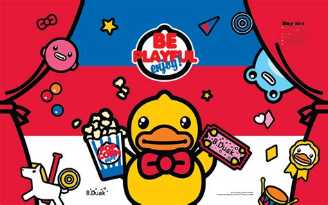 B.Duck Wallpaper for May! : B.Duck USA Official Site
