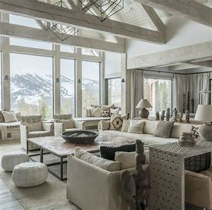 rustic lounge tips and 80 photos to create a cozy nest With decoration chic et charme