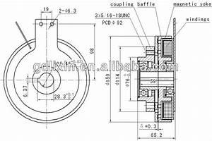 515609 New Pto Electromagnetic Clutch Meyer Buyers Salt Spreader 1401150 61167 65212