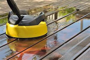 Brosse Electrique Pour Nettoyer Carrelage : holzdielen auf der terrasse reinigen so werden sie sauber ~ Mglfilm.com Idées de Décoration