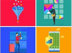 Google Material Onboarding Illustrations Sketch freebie