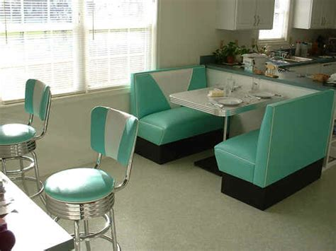 Kitchen Diner Booth Ideas by Kitchen Booth Teal White Boomerang Table Bar Stools