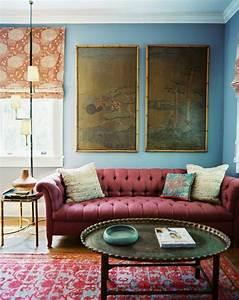 Wandfarbe Grau Blau : wandfarbe blau ihr traumhaus ideen ~ Michelbontemps.com Haus und Dekorationen
