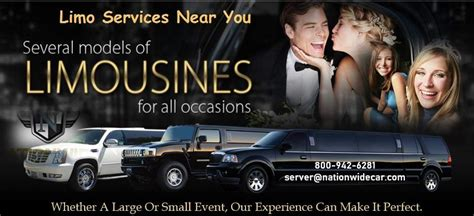 Chauffeur Service Near Me by Limo Service Near Me Limo Company Near Me Limo Rentals