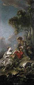 Java Script Code Examples A Pastoral Scene Boucher Painting Reproduction 4061