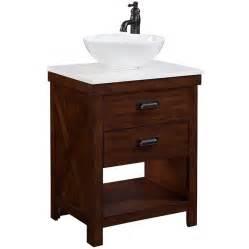 Home Depot Pedestal Sinks by Shop Style Selections Cromlee Bark Vessel Single Sink