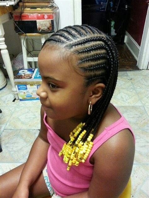 braided hairstyle for little girl hair for kids