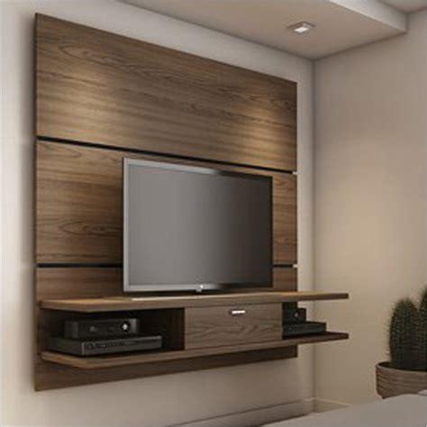 Tv Paneel Wand by Ellington Chocolate 2 0 Floating Tv Wall Panel W 2 Shelf