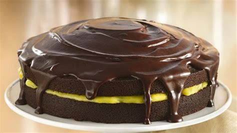 chocolate orange cake  ganache glaze recipe  betty