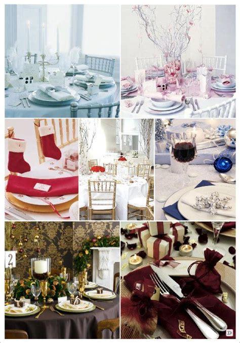 mariage hiver couleurs decoration table blanc rose vert