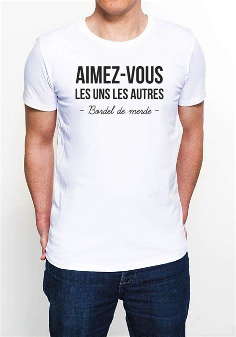 epingle par benoit de cajou sur tee shirt fun avec images