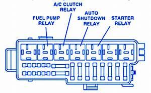 Jeep Wrangler 1998 Starter Fuse Box  Block Circuit Breaker