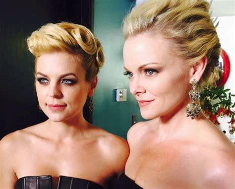Kirsten Storms And Martha Madison Look Deliciously Glamorous At Winterthorne Shoot Photo