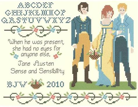 1000+ Images About Jane Austen Style Cross Stitch On