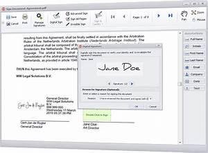 digital signatures document management software solution With document signature software