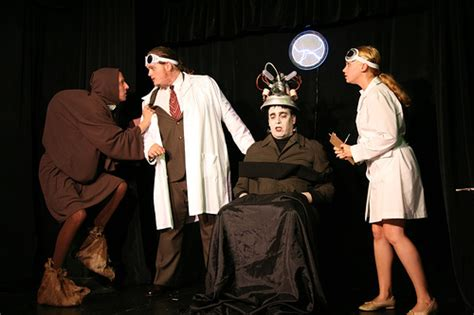 Young frankenstein (promoted as the new mel brooks musical: frankensteincolby