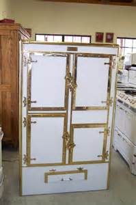 Antique Vintage Refrigerator