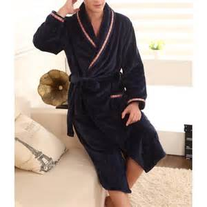 Robe De Chambre Polaire Homme Grande Taille by Robe De Chambre Homme Polaire Bleu Marine Lepeignoir Fr