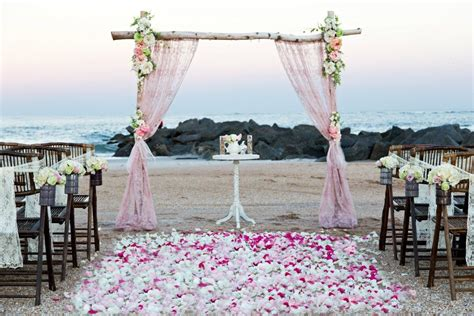 charmingly vintage sun sea beach weddings