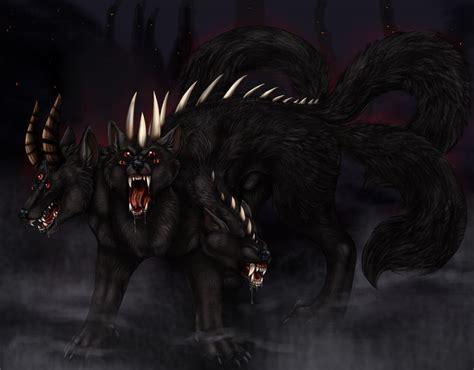 Demon Cerberus By Arania On Deviantart