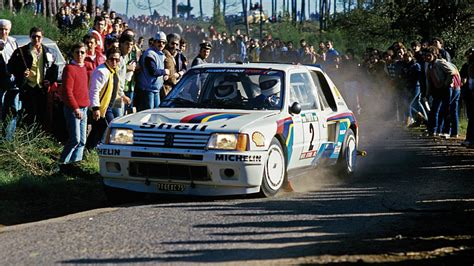 Peugeot 205 T16 For Sale by For Sale Race Winning Utterly Cool Peugeot 205 T16 Top