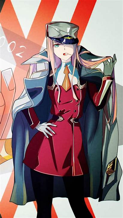 Zero Franxx Darling Anime Wallpapers Mobile Hiro