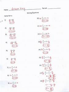 Kuta Software Infinite Algebra 2 Answer Key